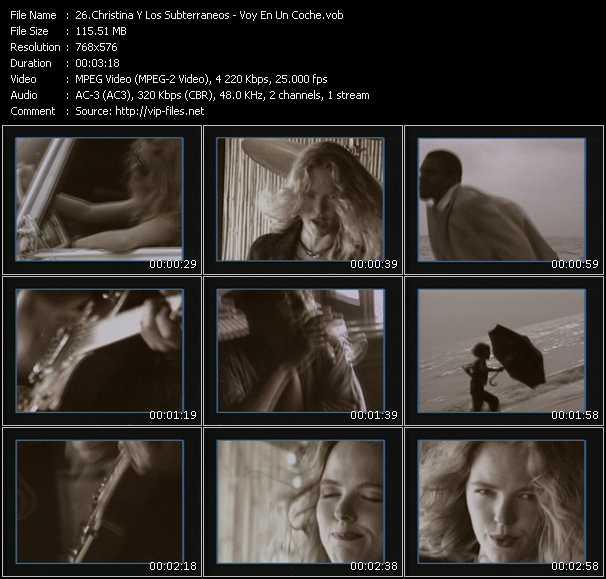 Christina Y Los Subterraneos - Voy En Un Coche