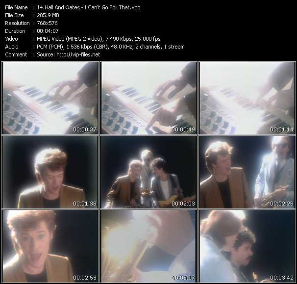 Hall And Oates (Daryl Hall And John Oates) - I Can't Go For That