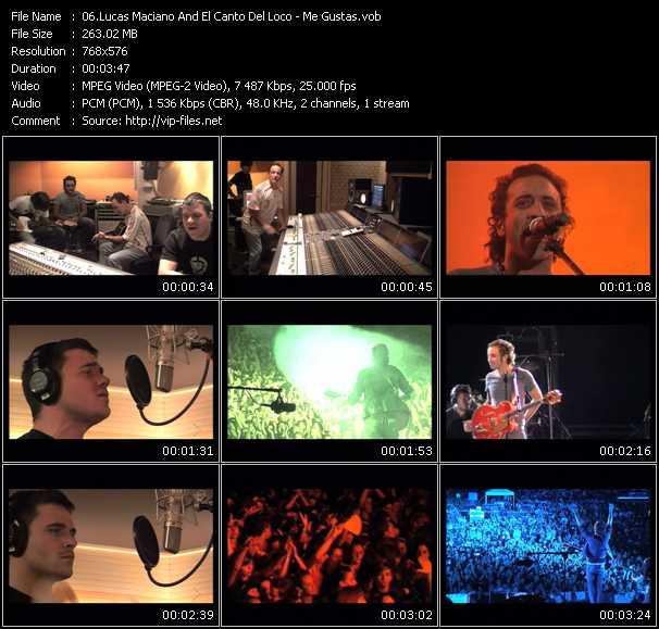 Lucas Maciano And El Canto Del Loco - Me Gustas