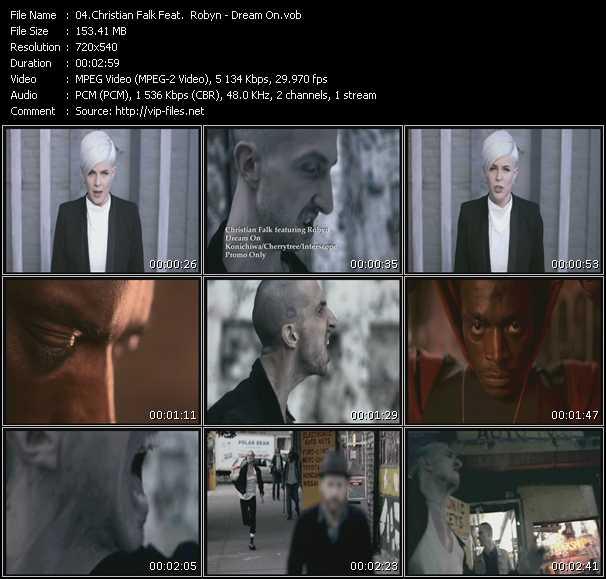 Christian Falk Feat. Robyn - Dream On