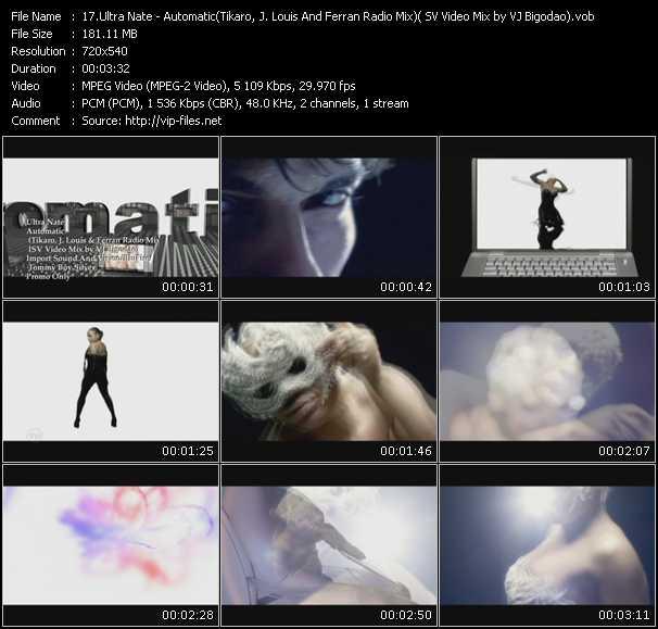 Ultra Nate - Automatic (Tikaro, J. Louis And Ferran Radio Mix) ( SV Video Mix by VJ Bigodao)