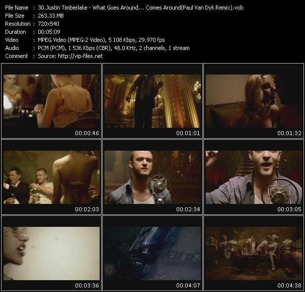 Justin Timberlake - What Goes Around... Comes Around (Paul Van Dyk Remix)
