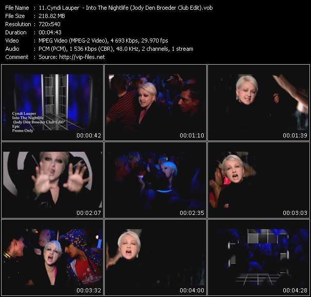 Cyndi Lauper - Into The Nightlife (Jody Den Broeder Club Edit)