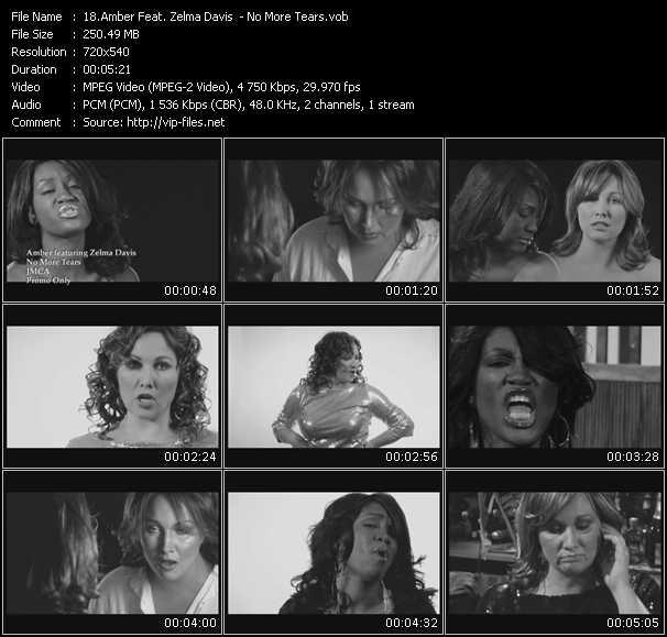 Amber Feat. Zelma Davis - No More Tears