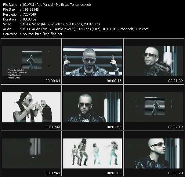 Wisin And Yandel - Me Estas Tentando
