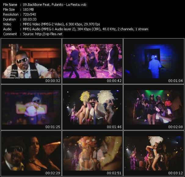 BackBone Feat. Fulanito - La Fiesta