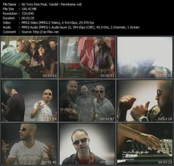 Tony Dize Feat. Yandel - Permitame