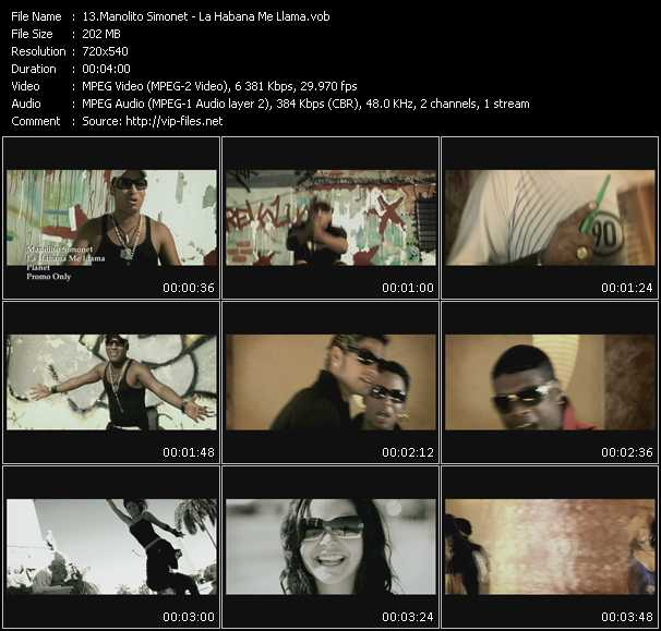 Manolito Simonet - La Habana Me Llama