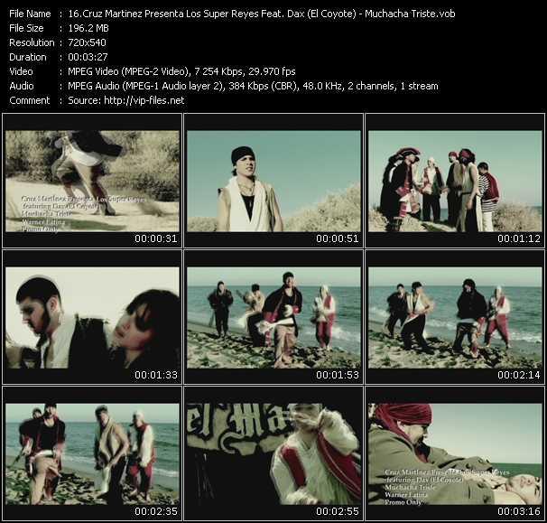 Cruz Martinez Presenta Los Super Reyes Feat. Dax (El Coyote) - Muchacha Triste