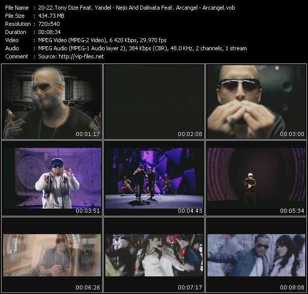 Tony Dize Feat. Yandel - Nejo And Dalmata Feat. Arcangel - Arcangel - Permitame - Algo Musical - Pa Que La Pases Bien