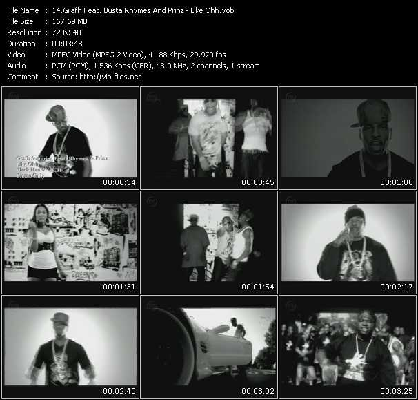 Grafh Feat. Busta Rhymes And Prinz - Like Ohh