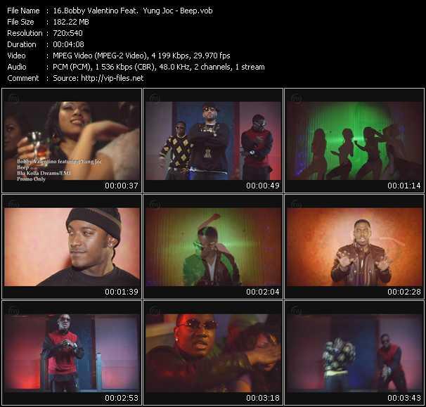 Bobby Valentino (Bobby V) Feat. Yung Joc - Beep