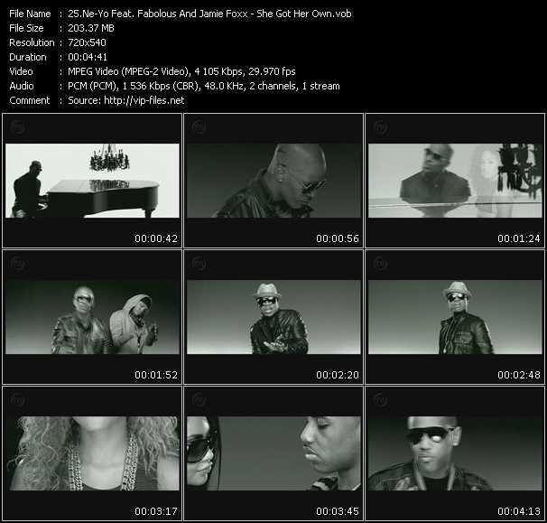 Ne-Yo Feat. Fabolous And Jamie Foxx - She Got Her Own