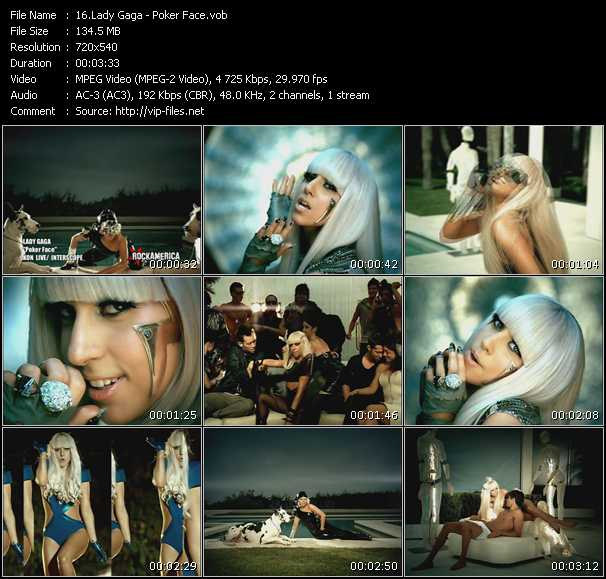 Lady Gaga - Poker Face