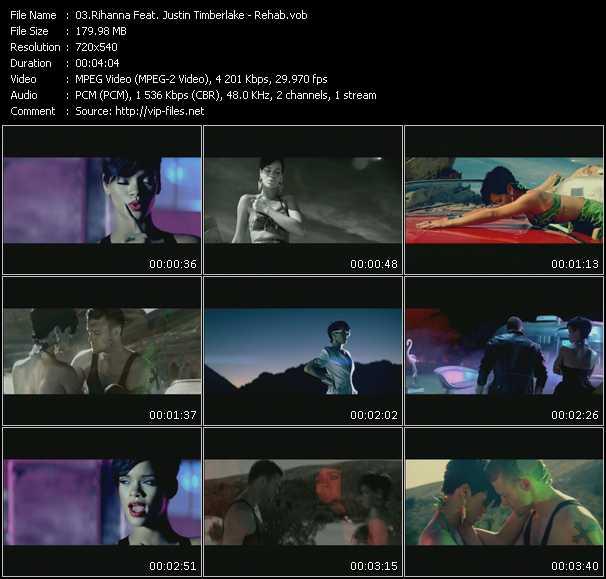Rihanna Feat. Justin Timberlake - Rehab