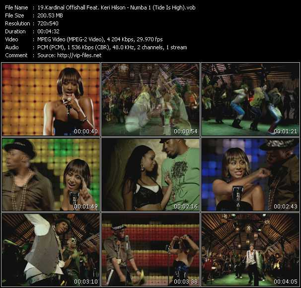 Kardinal Offishall Feat. Keri Hilson - Numba 1 (Tide Is High)