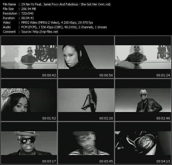 Ne-Yo Feat. Jamie Foxx And Fabolous - She Got Her Own