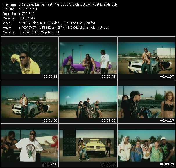 David Banner Feat. Yung Joc And Chris Brown - Get Like Me