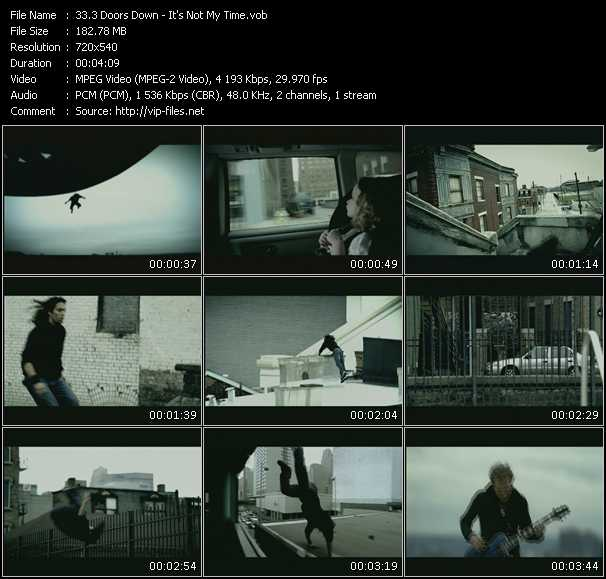 3 Doors Down - It's Not My Time
