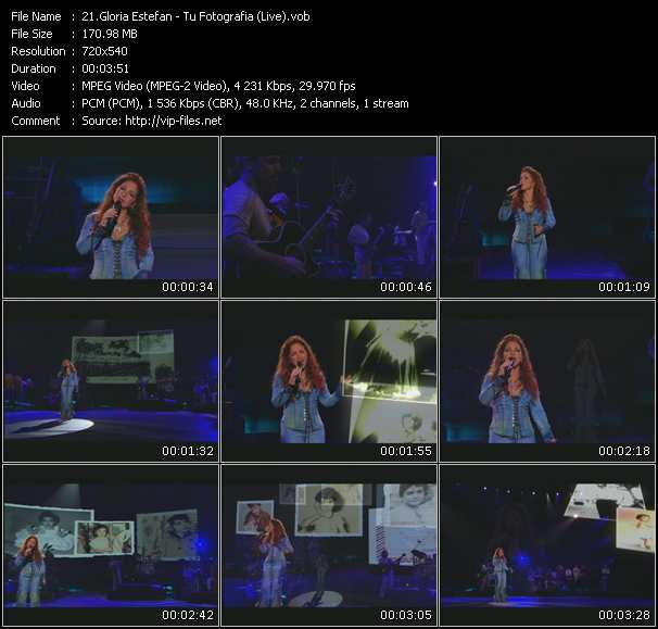 Gloria Estefan - Tu Fotografia (Live)