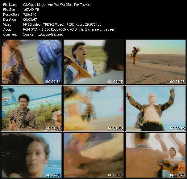 Gipsy Kings - Ami Wa Wa (Solo Por Ti)