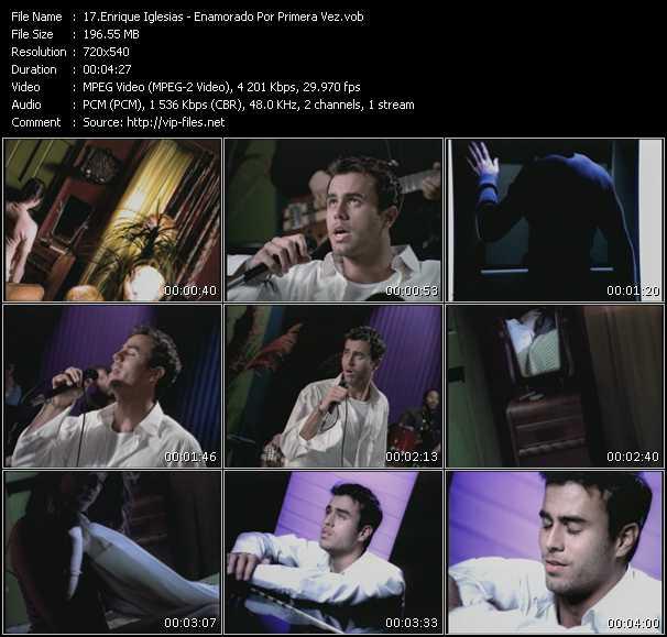 Enrique Iglesias - Enamorado Por Primera Vez
