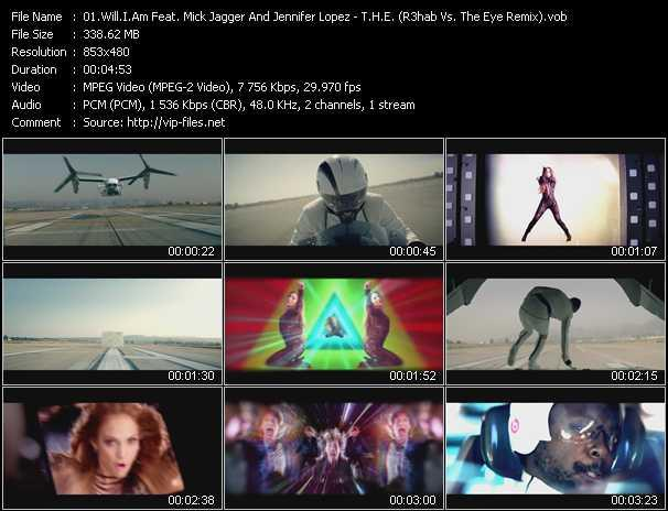 Will.I.Am Feat. Mick Jagger And Jennifer Lopez - T.H.E. (The Hardest Ever) (R3hab Vs. The Eye Remix)