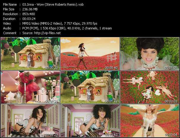Inna - Wow (Steve Roberts Remix)