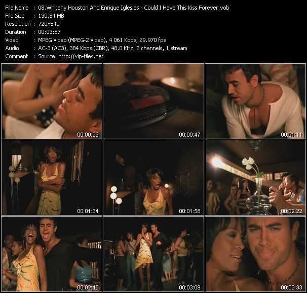 Whiteny Houston And Enrique Iglesias - Could I Have This Kiss Forever