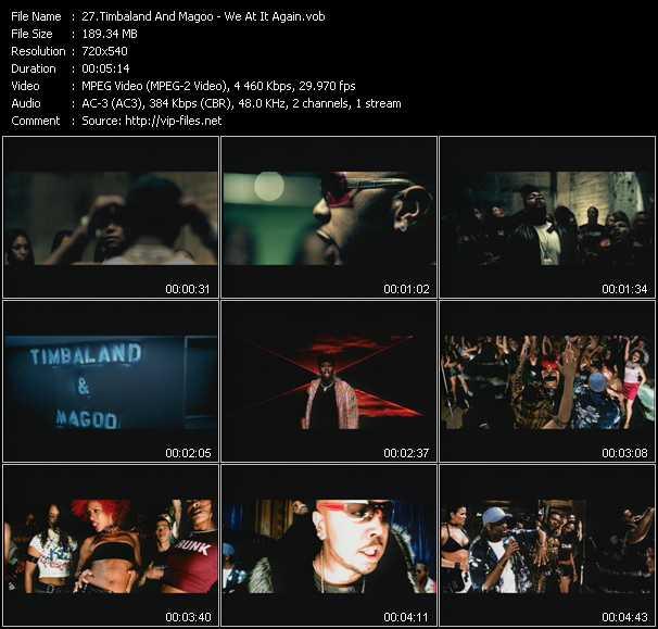 Timbaland And Magoo - We At It Again