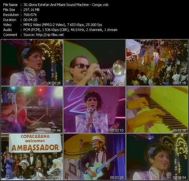 Gloria Estefan And Miami Sound Machine - Conga