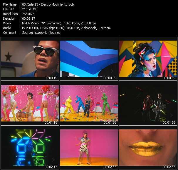 Calle 13 - Electro Movimiento