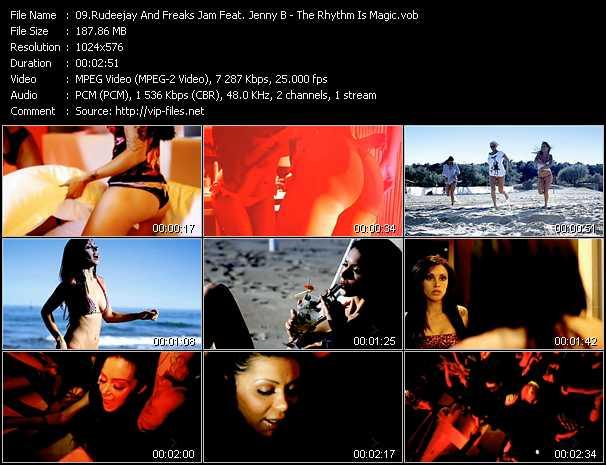Rudeejay And Freaks Jam Feat. Jenny B - The Rhythm Is Magic