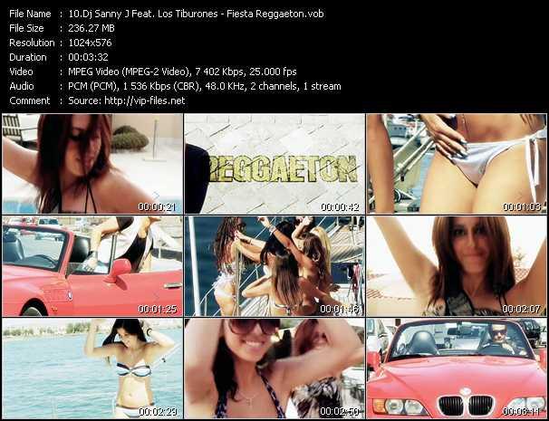 Dj Sanny J Feat. Los Tiburones - Fiesta Reggaeton