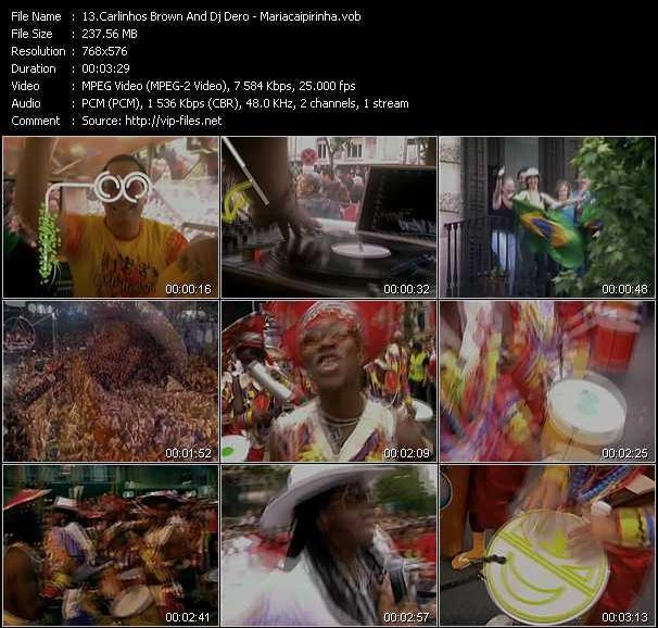 Carlinhos Brown And Dj Dero - Mariacaipirinha