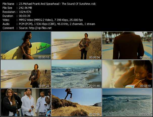 Michael Franti And Spearhead - The Sound Of Sunshine