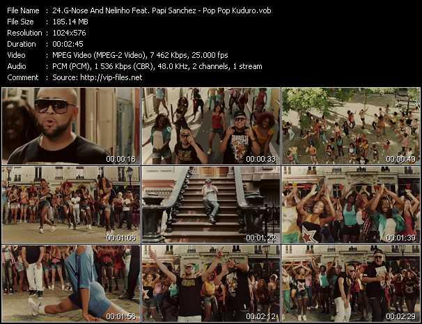 G-Nose And Nelinho Feat. Papi Sanchez - Pop Pop Kuduro