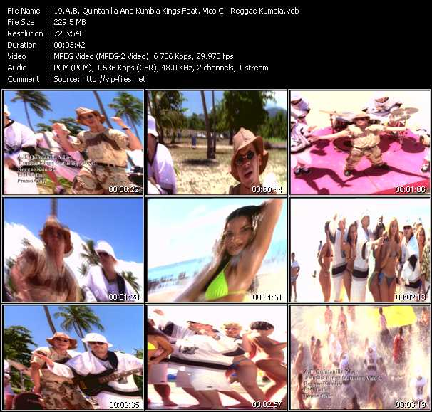 A.B. Quintanilla And Kumbia Kings Feat. Vico C - Reggae Kumbia
