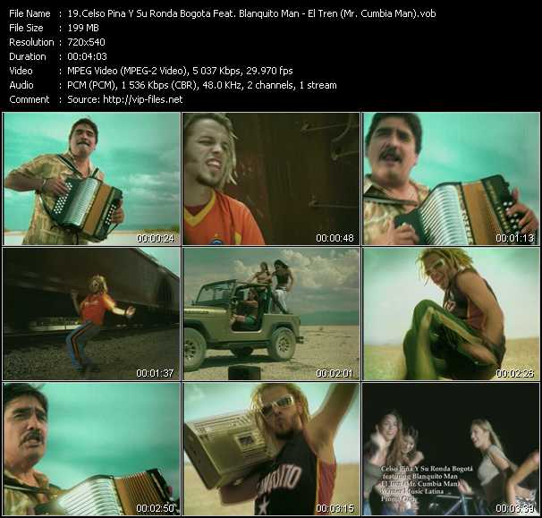 Celso Pina Y Su Ronda Bogota Feat. Blanquito Man - El Tren (Mr. Cumbia Man)