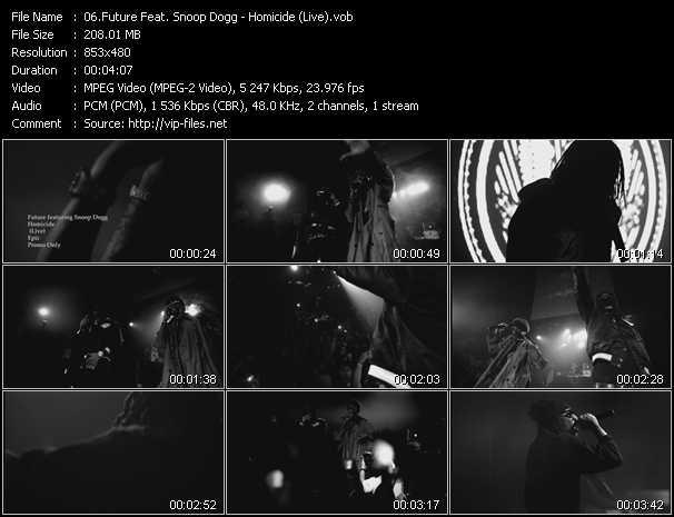 Future Feat. Snoop Dogg - Homicide (Live)