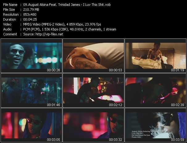 August Alsina Feat. Trinidad James - I Luv This Shit