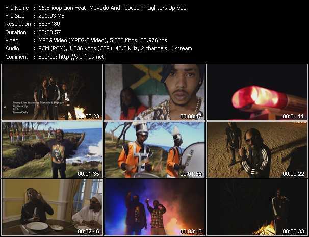 Snoop Lion Feat. Mavado And Popcaan - Lighters Up