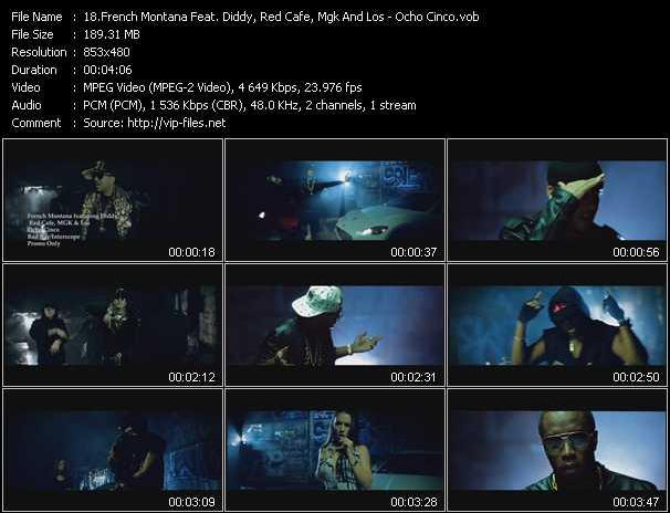 French Montana Feat. P. Diddy (Puff Daddy), Red Cafe, Mgk And Los - Ocho Cinco