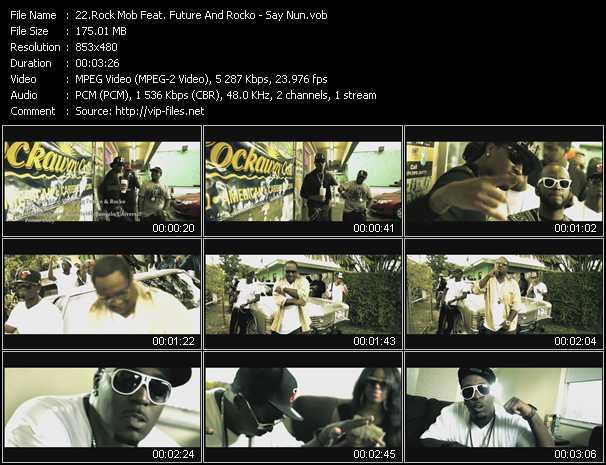 Rock Mob Feat. Future And Rocko - Say Nun