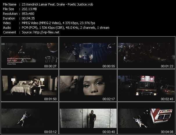 Kendrick Lamar Feat. Drake - Poetic Justice