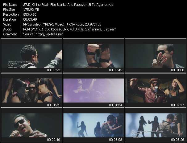 Dj Chino Feat. Fito Blanko And Papayo - Si Te Agarro