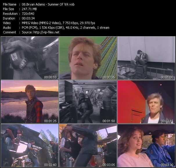 B. Adams - Summer Of '69