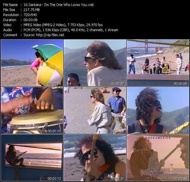 Santana - I'm The One Who Loves You