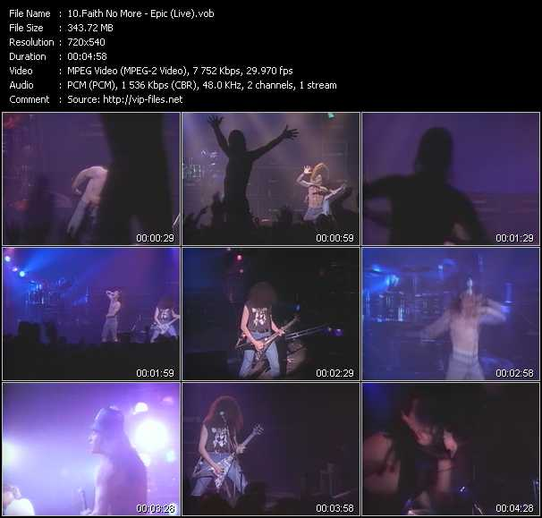 Faith No More - Epic (Live)