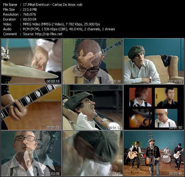 Mikel Erentxun - Cartas De Amor